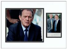 Kevin Whately Signed Photo Display - Lewis
